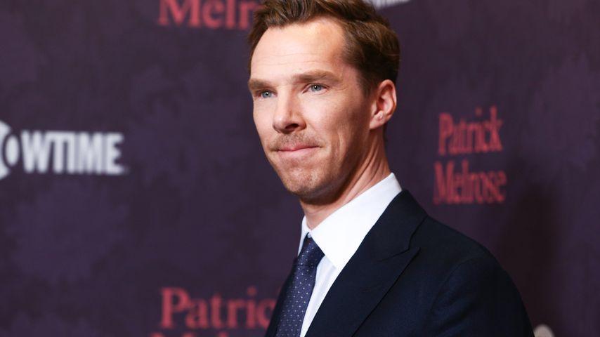 Benedict Cumberbatch hinterm Steuer: Crash mit Fahrradfahrer