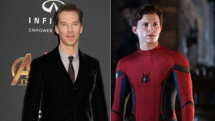 """Bestätigt: Benedict Cumberbatch in neuem """"Spider-Man""""-Film!"""