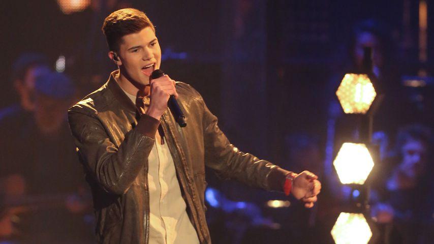 """Benedikt Köstler im """"The Voice""""-Halbfinale 2017"""
