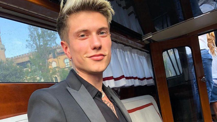 Benjamin Mascolo in Venedig, Januar 2020