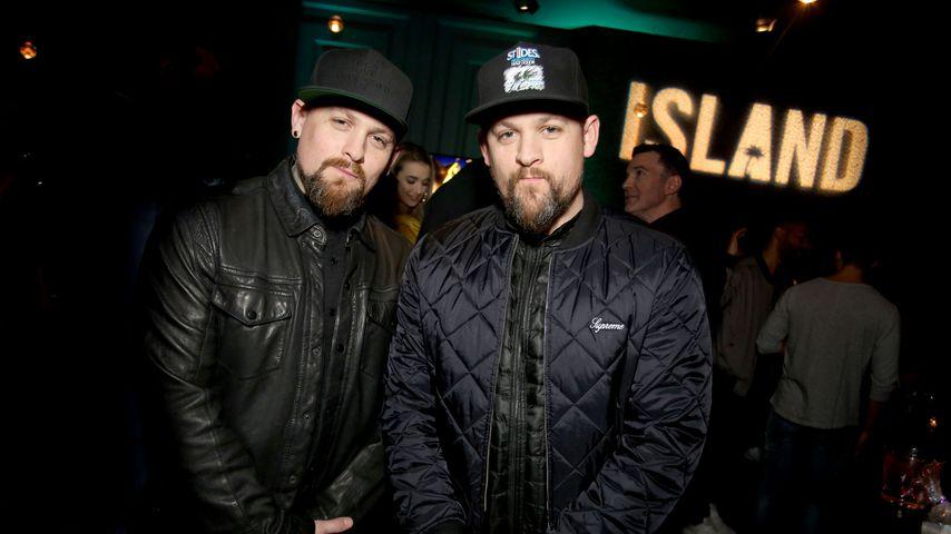 Benji Madden und Joel Madden bei der Pre-Grammy-Party in LA im Februar 2017