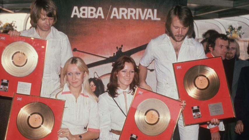 Benny Andersson, Agnetha Faltskog, Anni-Frid Lyngstad and Björn Ulvaeus von ABBA