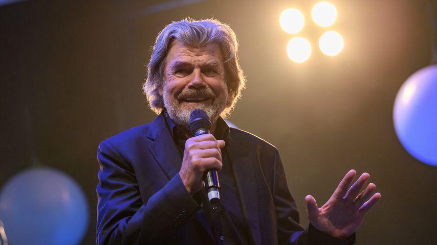 Bergsteigerlegende Reinhold Messner 2017 in Frankfurt am Main