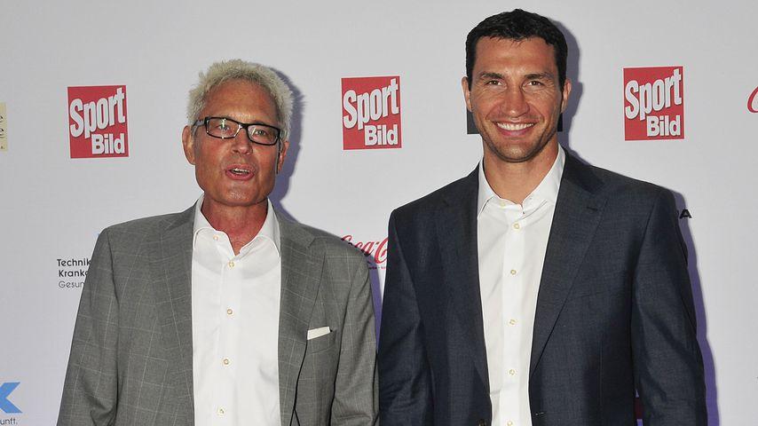 Bernd Bönte und Wladimir Klitschko bei den Sport Bild Awards