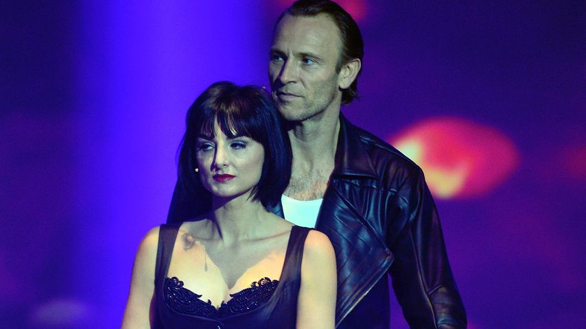"Mimi Fiedler und Bernhard Bettermann in der Tanz-Show ""Stepping Out"""