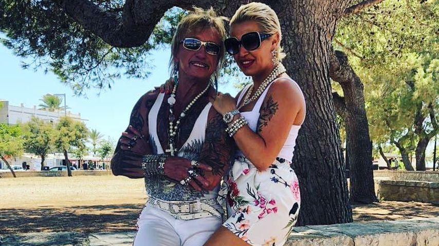 Bert Wollersheim und Ginger Costello auf Mallorca