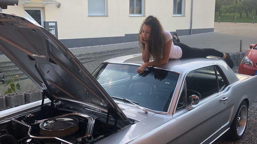 Herz gebrochen: Betty Taube trauert ihrem Auto hinterher