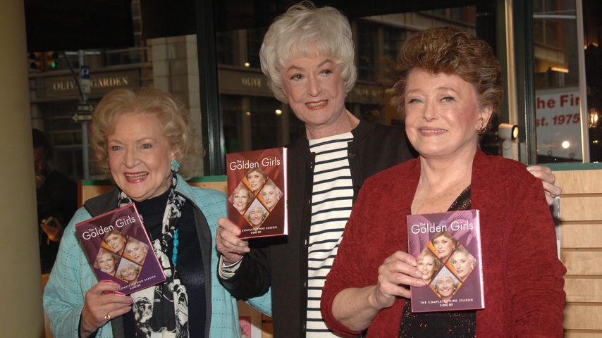 Betty White, Beatrice Arthur und Rue McClanahan 2005 in New York