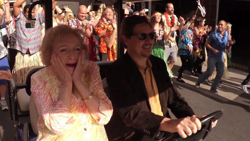 Betty White: Mega-Flashmob zum 93. Geburtstag