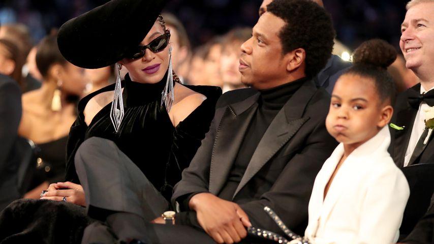 Beyoncé, Jay-Z und Blue Ivy bei den Grammys 2018