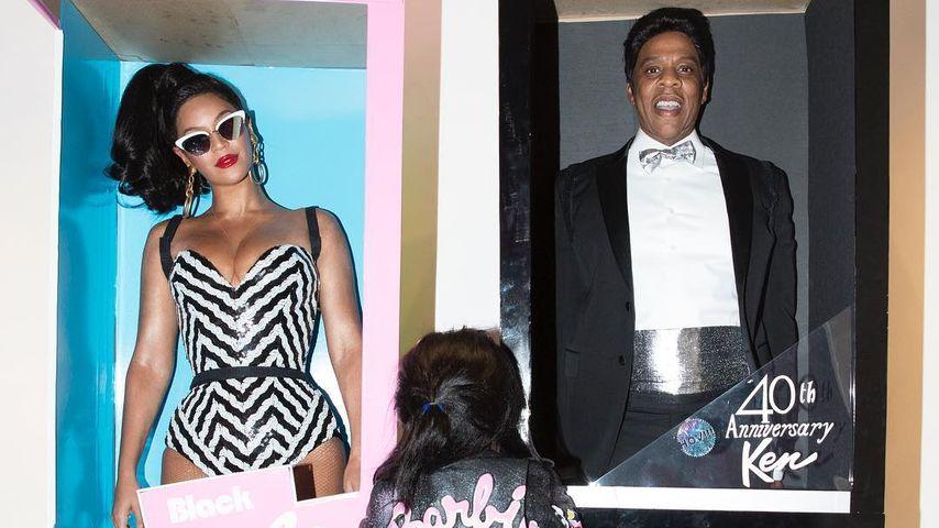 Beyoncé, Jay-Z und Blue Ivy im Halloween-Kostüm