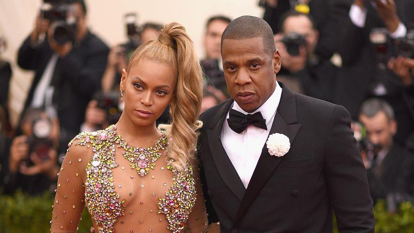 Beyoncé Knowles und Jay-Z bei den MET-Awards 2015