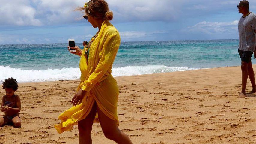 Nach Trennungsgerüchten: Beyoncé genießt Familienurlaub