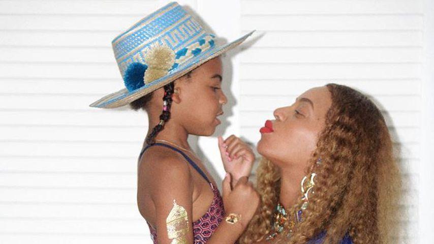 Foto-Vergleich: Blue Ivy sieht aus wie Mama Beyoncé als Kind