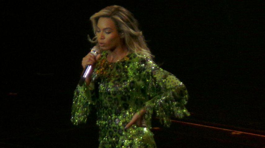 Beyonce auf einem Konzert in Glasgow 2014