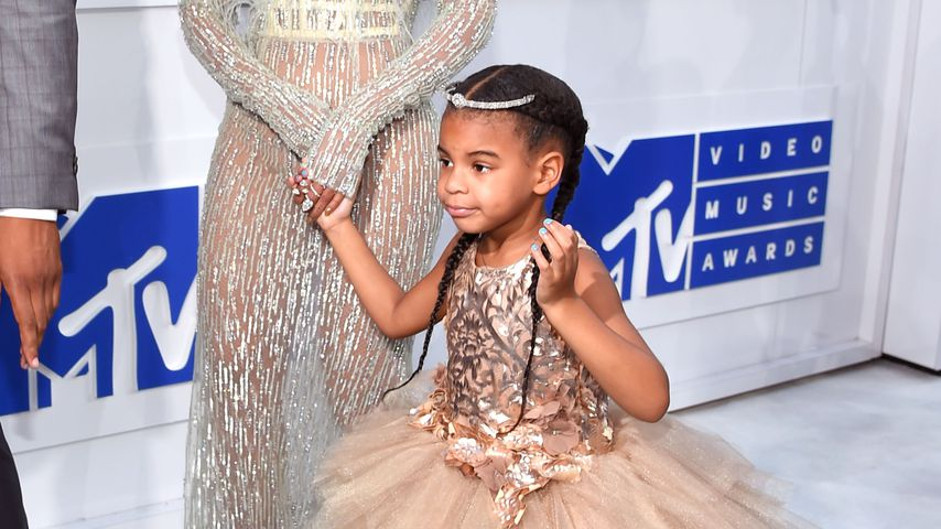 Beyoncé und Blue Ivy 2016 bei den MTV Video Music Awards in New York