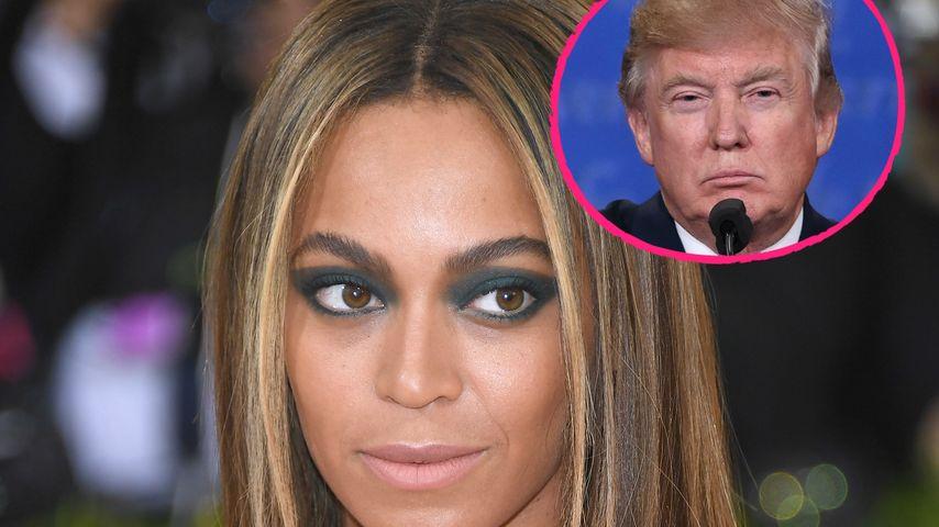 """Neues Fettnäpfchen: Trump kann """"Beyoncé"""" nicht aussprechen!"""
