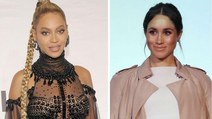 Mit Emoji: So reagierte Meghan auf Beyoncés Brit Award-Clip