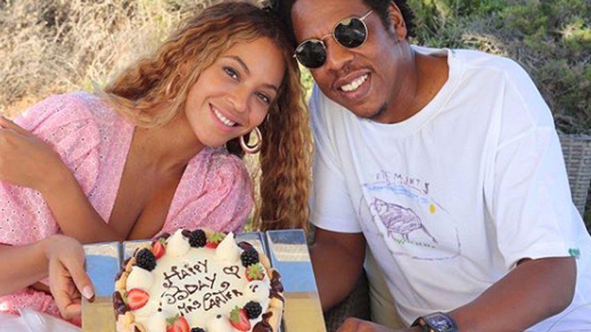 Erste Fotos: Hier erneuern Beyoncé & Jay-Z ihr Ehegelübde!