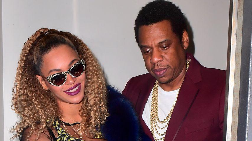3 Jahre nach Aufzug-Eklat: Queen Bey & Jay-Z lachen drüber!