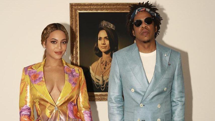 Beyoncé & Jay-Z ehren Herzogin Meghan bei den Brit Awards!