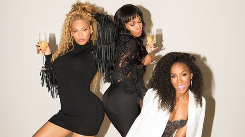 Beyoné, Michelle Williams und Kelly Rowland