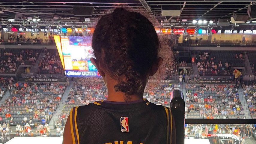 Bianka Bella Bryant bei dem NBA-All-Star-Spiel im Juli 2021