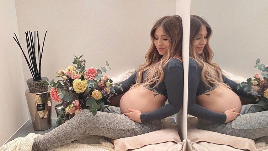 Im siebten Monat: So schön ist Bibi Claßens Babybauch