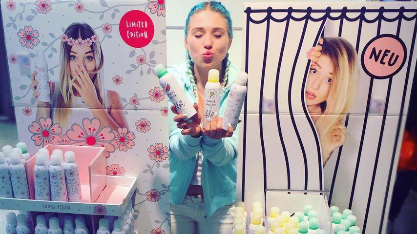 Bibi Heinicke mit ihren Bilou-Produkten