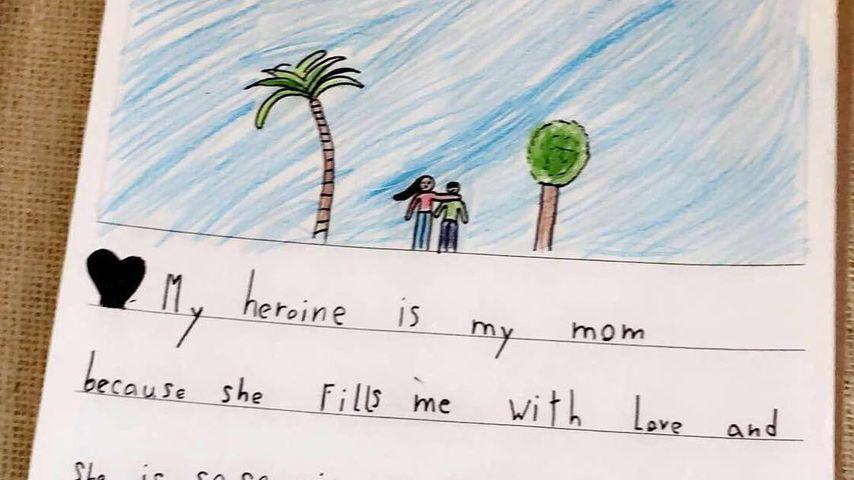 Bild von Flynn Bloom an seine Mama Miranda Kerr