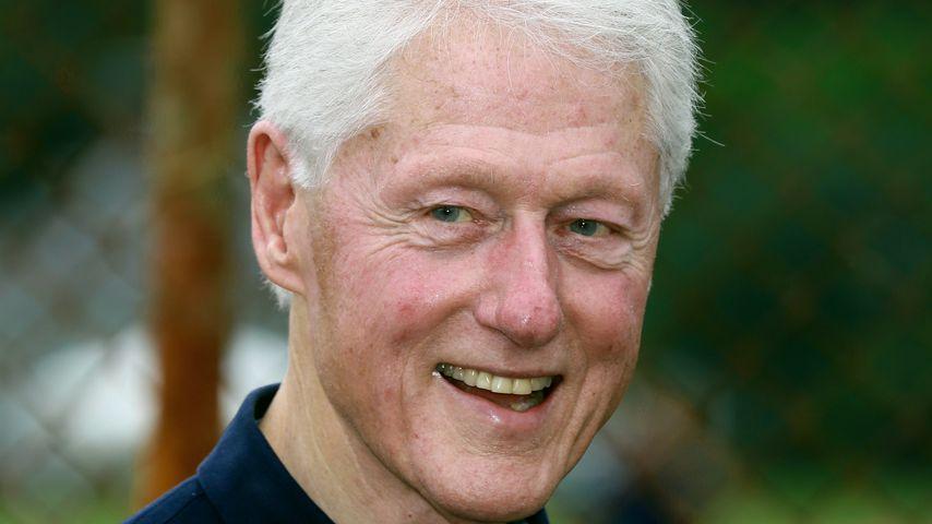 Bill Clinton im August 2019 in den Hamptons
