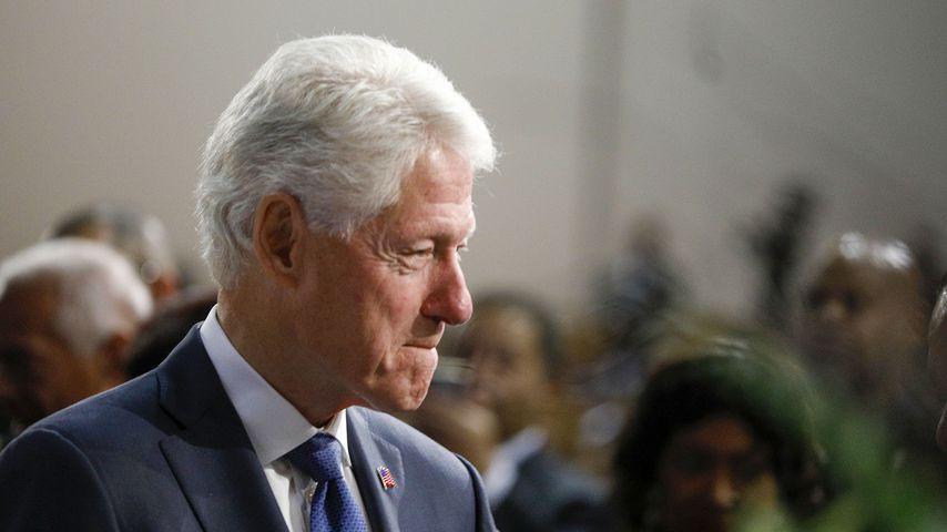 Bill Clinton in Detroit, November 2019