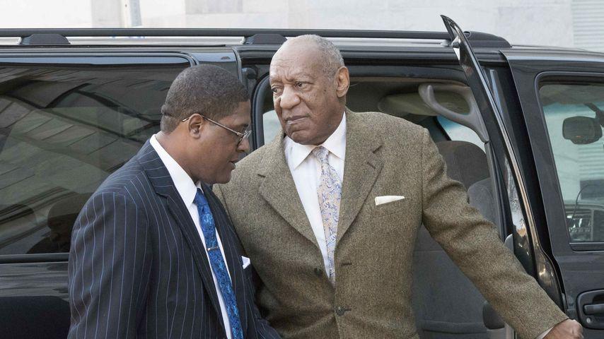 Bill Cosby und sein Sprecher Andrew Wyatt