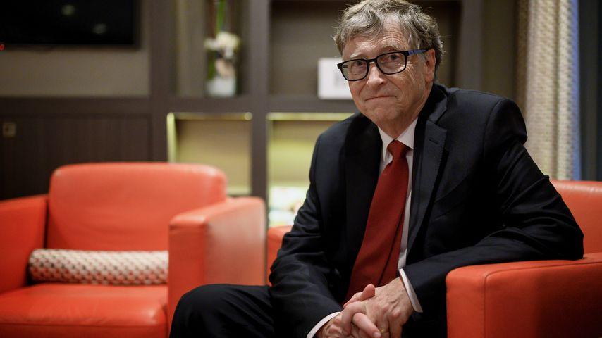 Bill Gates bei einer Konferenz in Lyon im Oktober 2019