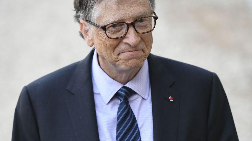 Bill Gates in Paris im April 2018