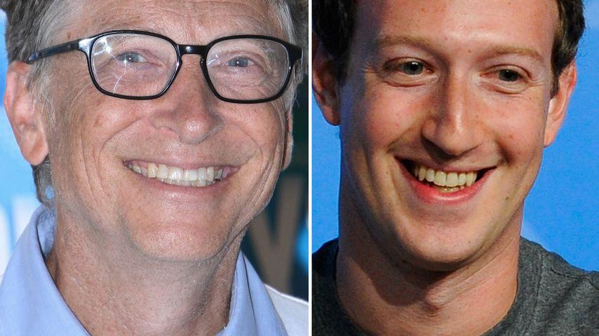 Neue Forbes-Liste: Bill Gates reicher als Mark Zuckerberg!