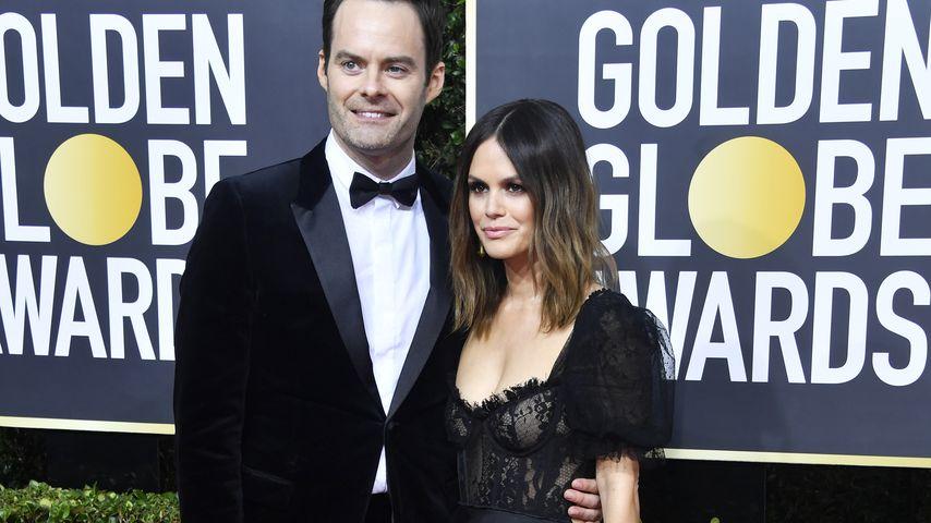 Bill Hader und Rachel Bilson im Januar 2020