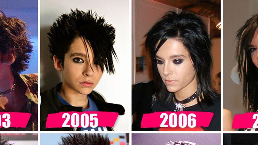 Seht hier Bill Kaulitz' irre Frisuren-History
