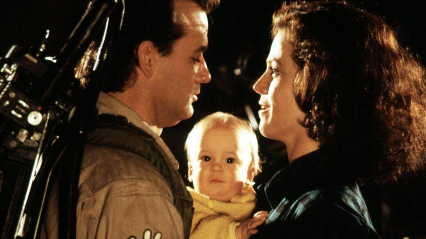"""Bill Murray, Hank Deutschendorf und Sigourney Weaver 1989 im Film """"Ghostbusters"""""""