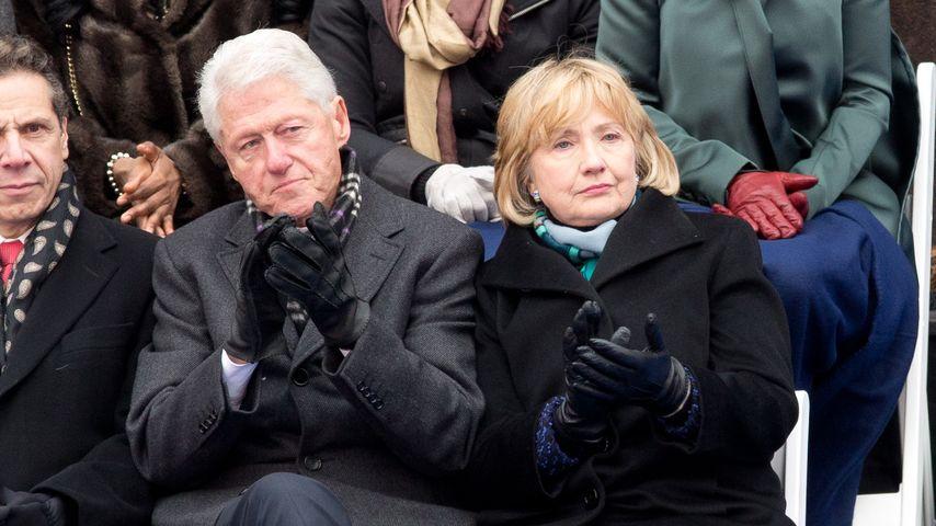 Wegen Lewinsky-Affäre: Bill Clinton von Hillary verprügelt!
