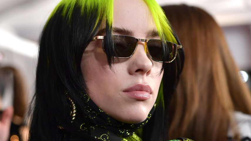 Billie Eilish bei den Grammys in L.A. im Januar 2020