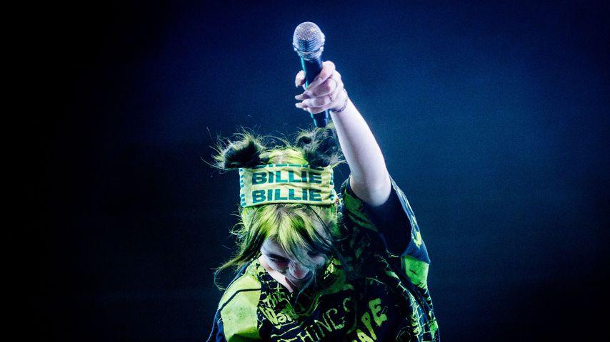 Billie Eilish bei einem Auftritt im August 2019