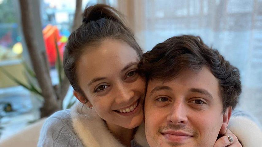 Billie Lourd und Austen Rydell im Juni 2020