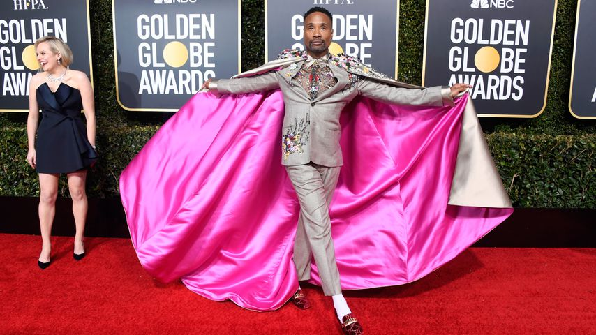 Billy Porter bei den Golden Globes 2019