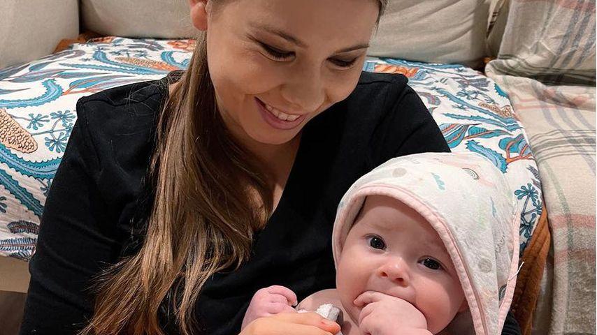 Bindi Irwin mit ihrer Tochter Grace im Juni 2021