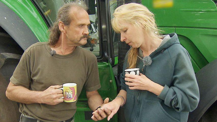 """Gottfried und Martina bei """"Bauer sucht Frau"""" 2014"""