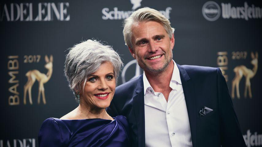 Birgit Schrowange und Frank Spothelfer bei den Bambi Awards 2017