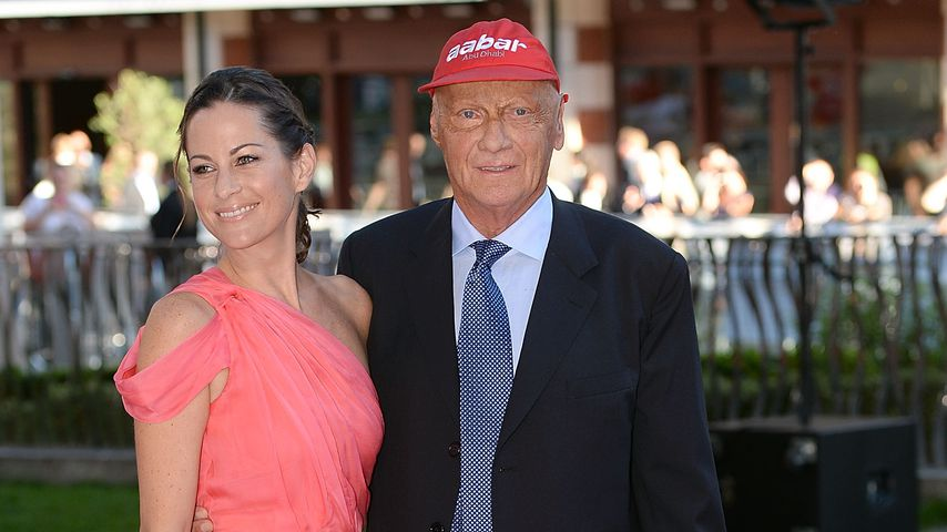 Birgit und Niki Lauda im September 2013