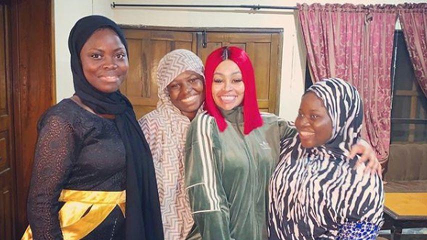 Blac Chyna im Bab-Es-Salam-Waisenhaus in Lagos