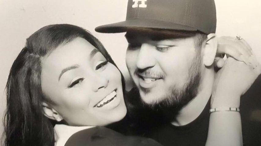 Blac Chyna und Rob Kardashian